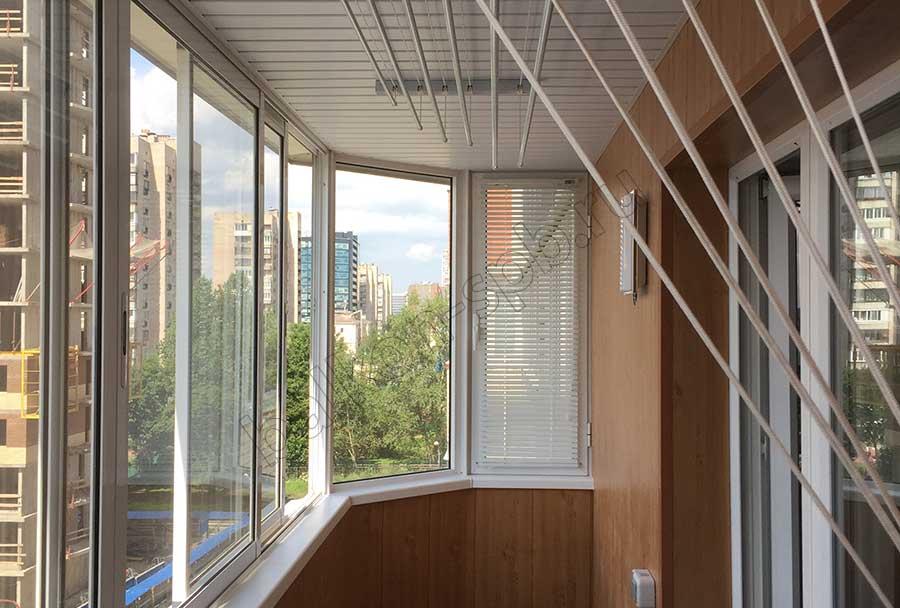 Как сделать стекло на балконе 97