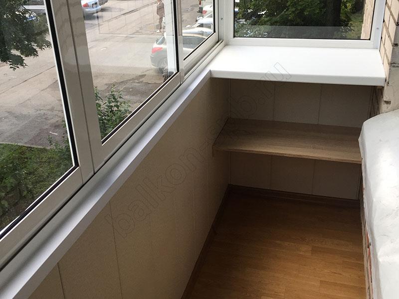 внутренняя отделка балкона в хрущёвке фото