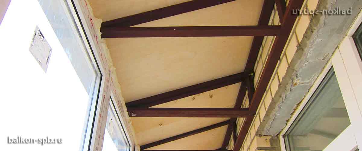 Остекление и отделка балконов и лоджий в спб: выбор остеклен.