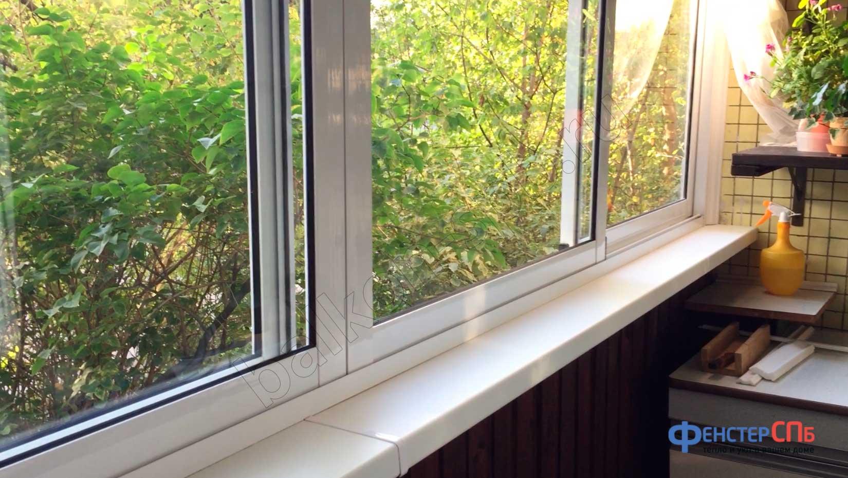 Алюминиевые балконы 13 фото.