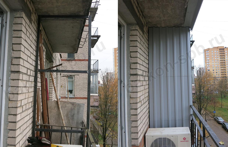 Сварка балкона: стоимость сварочных работ для усиления балко.