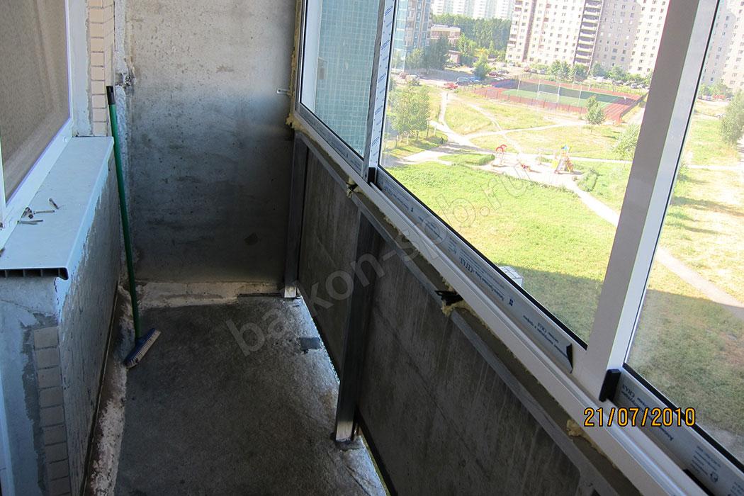Укрепление балконов в спб.