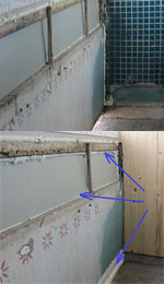 утепление балкона лоджии, устранение сквозняков
