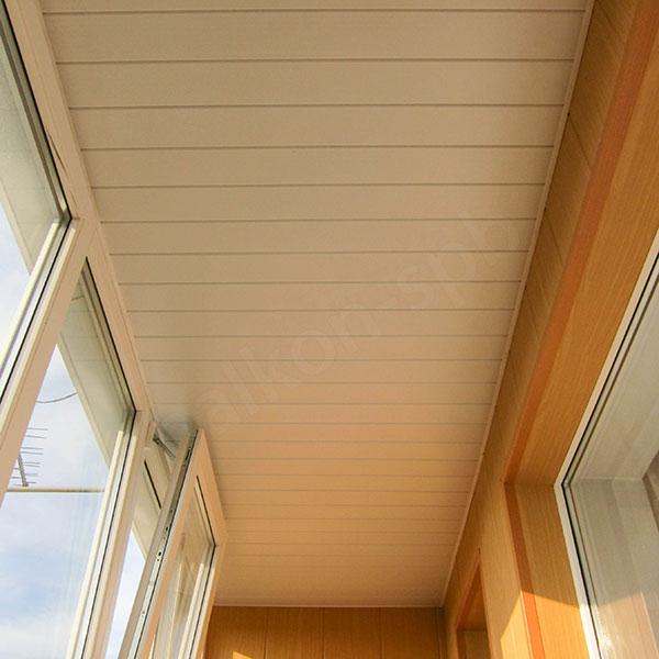 Внутренняя отделка балкона потолок дома на irixpix.