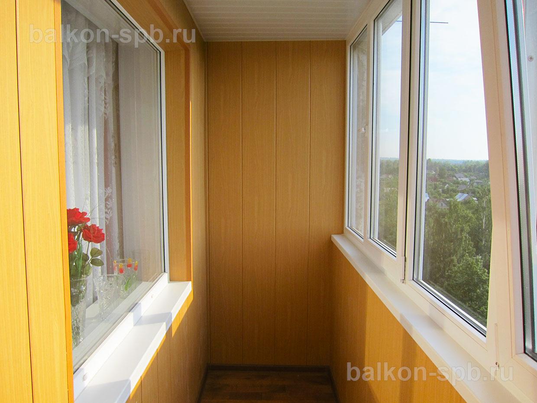 Отделка балконов пластиковыми панелями: описание, фото стоим.