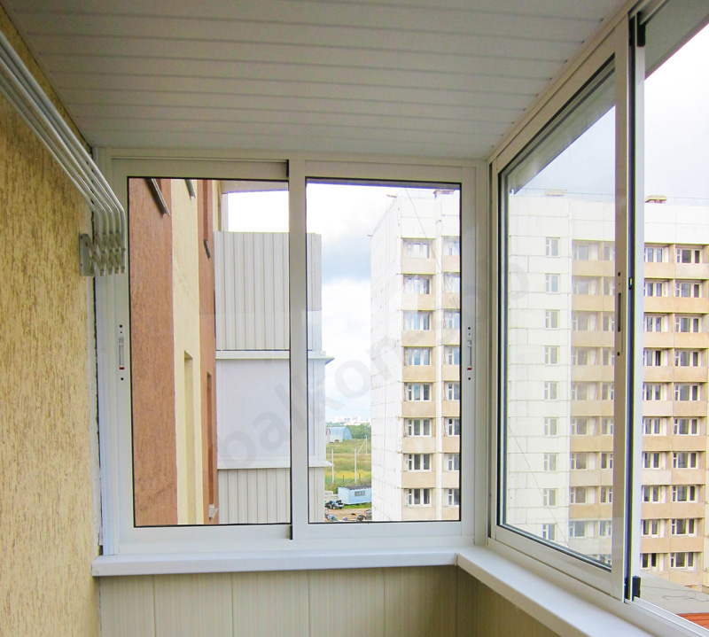 Алюминиевые окна на балкон со скидкой 4 % Цены от 2