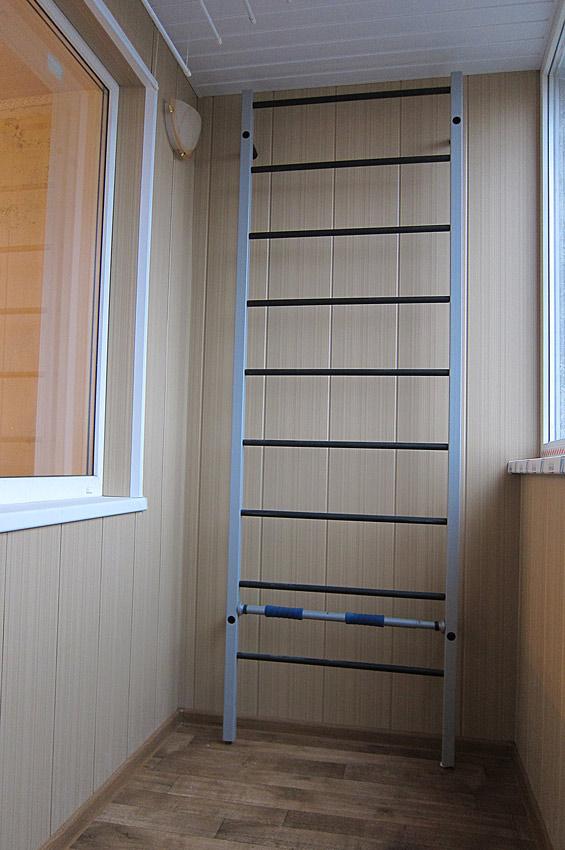 Отделка балконов ламинированными пластиковыми панелями олимп.