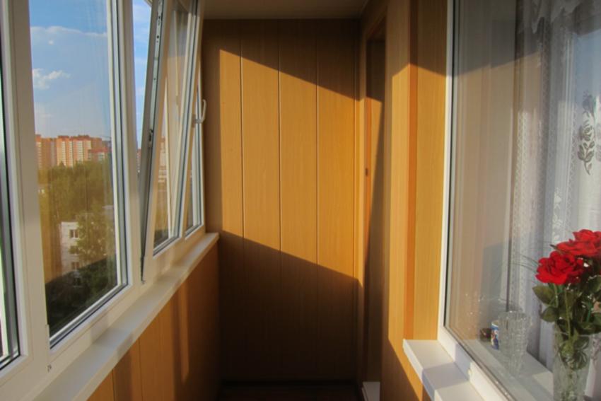 Balkony wewnetrzne wykonczenia w hruschevke - home decoratio.