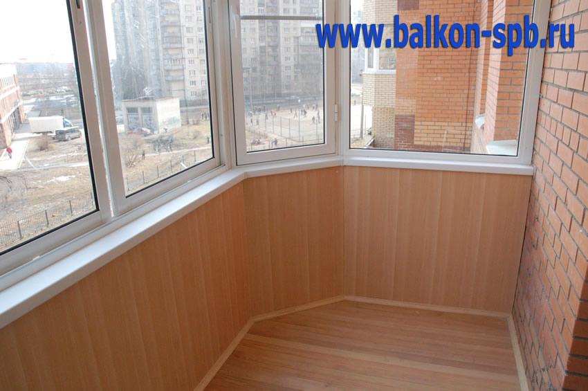 Отделка балконов и лоджий панелями 26 фото.